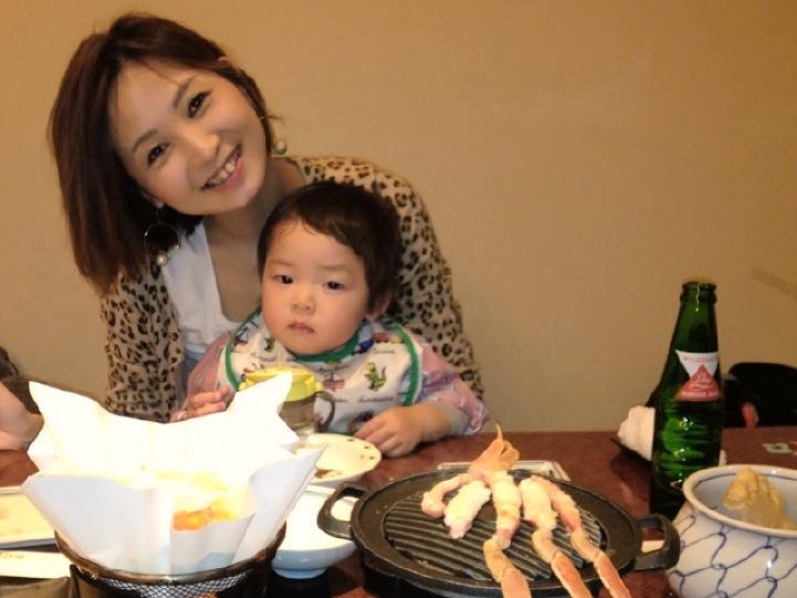 高村さんと息子さん