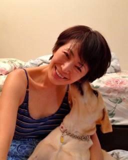 小島さんと愛犬