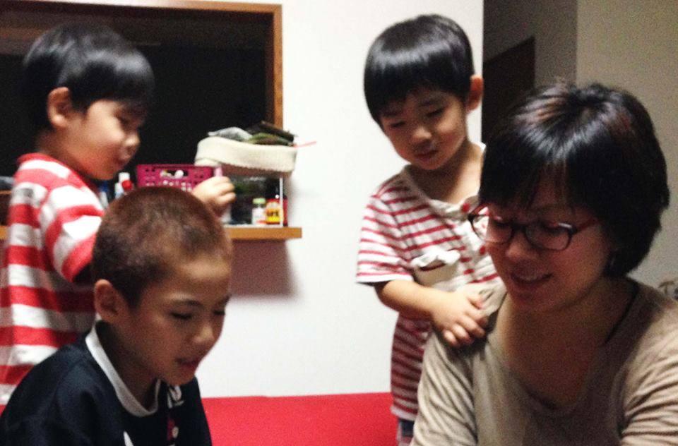 宮本さんとお子様たち