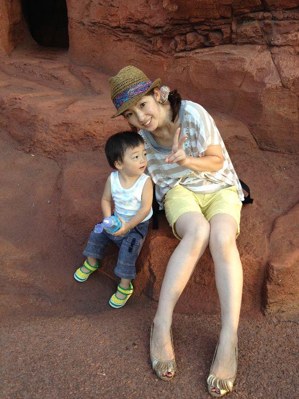 小林さんと息子さん