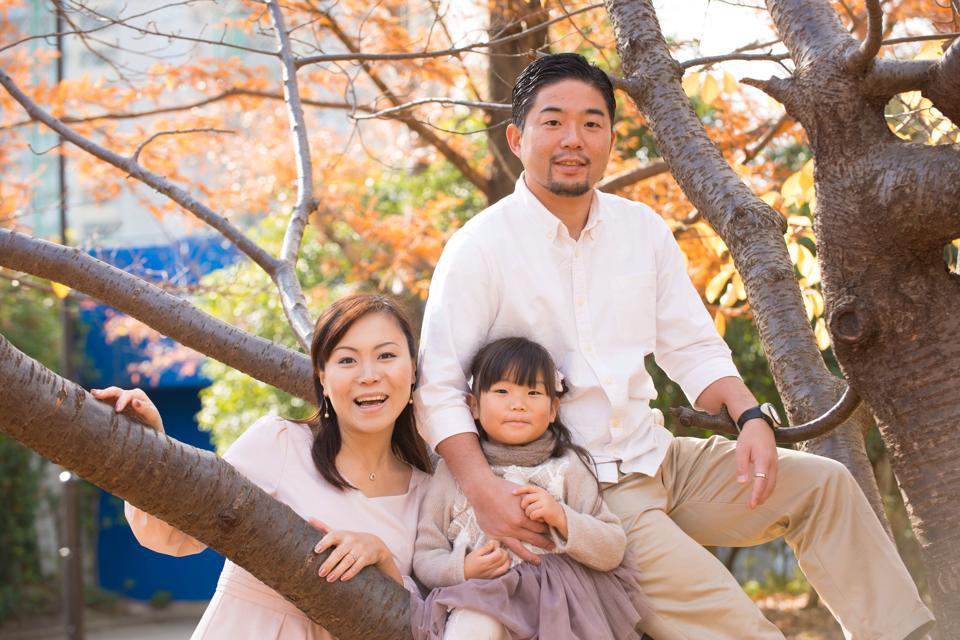 岡野さん家族