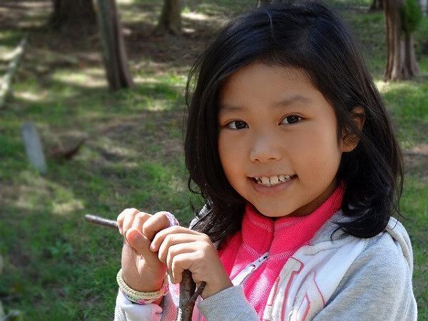 麻生さんのお嬢さんのリサコちゃん。将来の夢はキャビンアテンダントです。
