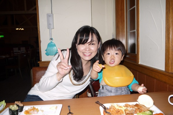 2012年 軽井沢旅行にて