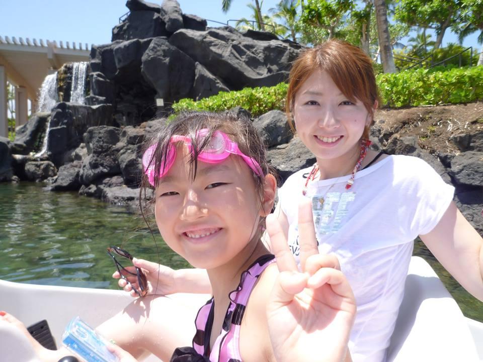 秋庭さんと娘さん