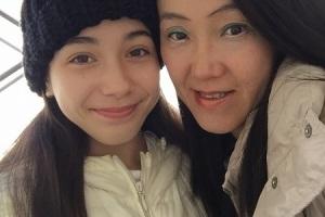 明石さんと娘さん