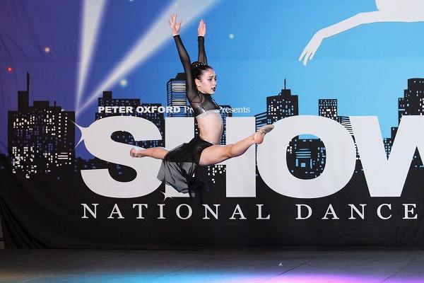 ナショナルダンスショーでの娘さん