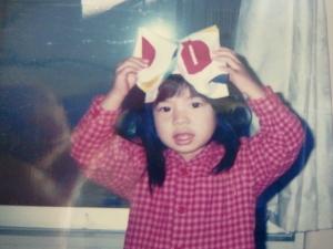 娘さんが託児所に通い始めたころの写真。2歳半。 ママとバイバイしたあとは、毎朝、気が済むまで泣いて、その後は、ケロリ。ミキハウスキッズルームはもう一つのお家。