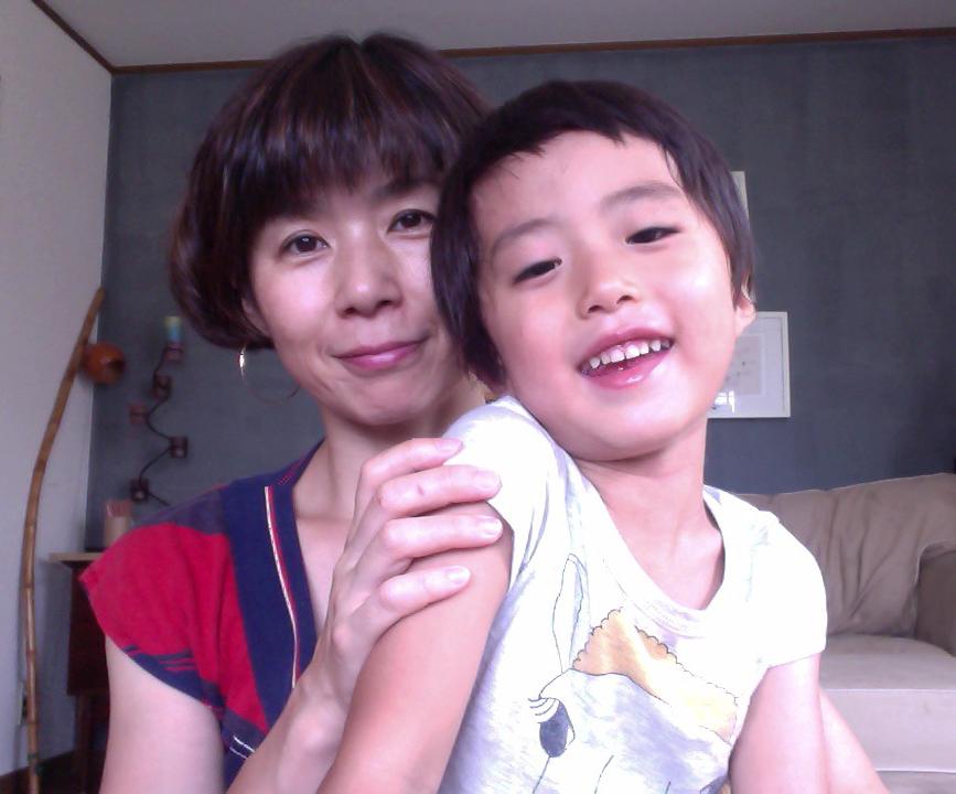 清野さんとお子さん