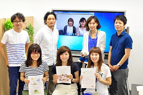 プロジェクトメンバー(一部)、前列中央が小澤さん