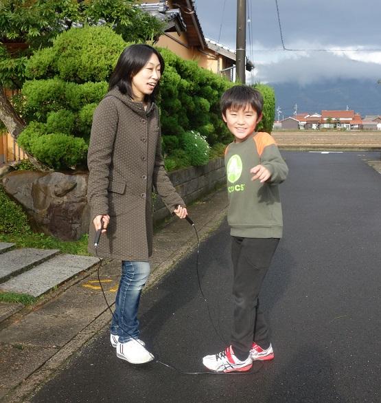 秦さんと息子さん