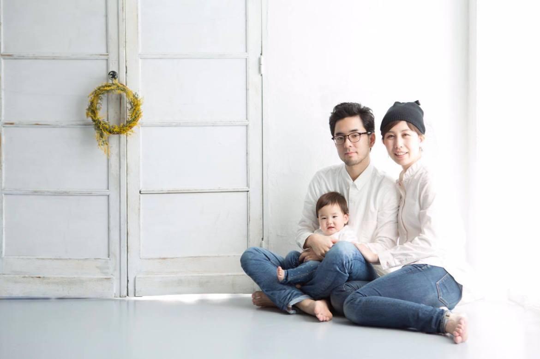 山田さん家族。