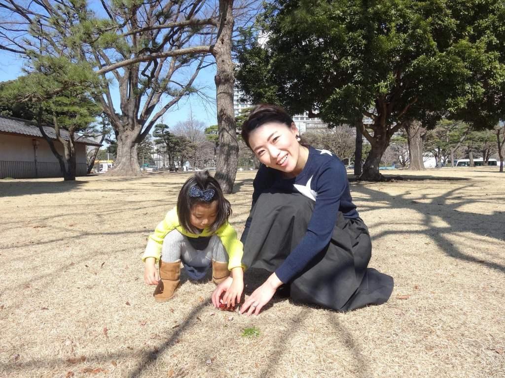 宗次さんと娘さん