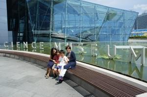 シンガポールにてママ友と親子で