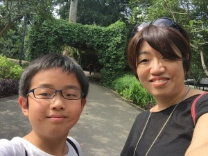 tomoko-taketo-at-singapore-botanic-garden