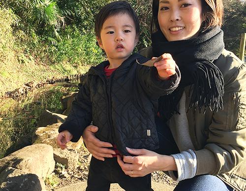澤崎さんと息子さん