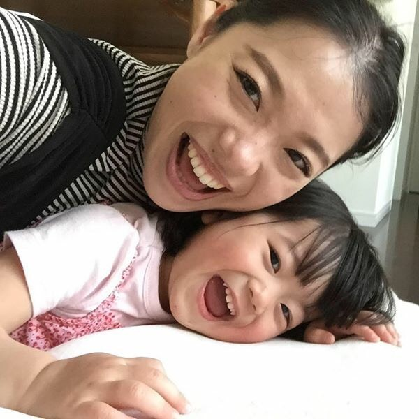 大澤さんと娘さん
