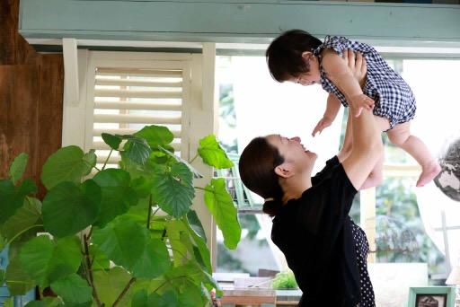 長濱さんとお子さん