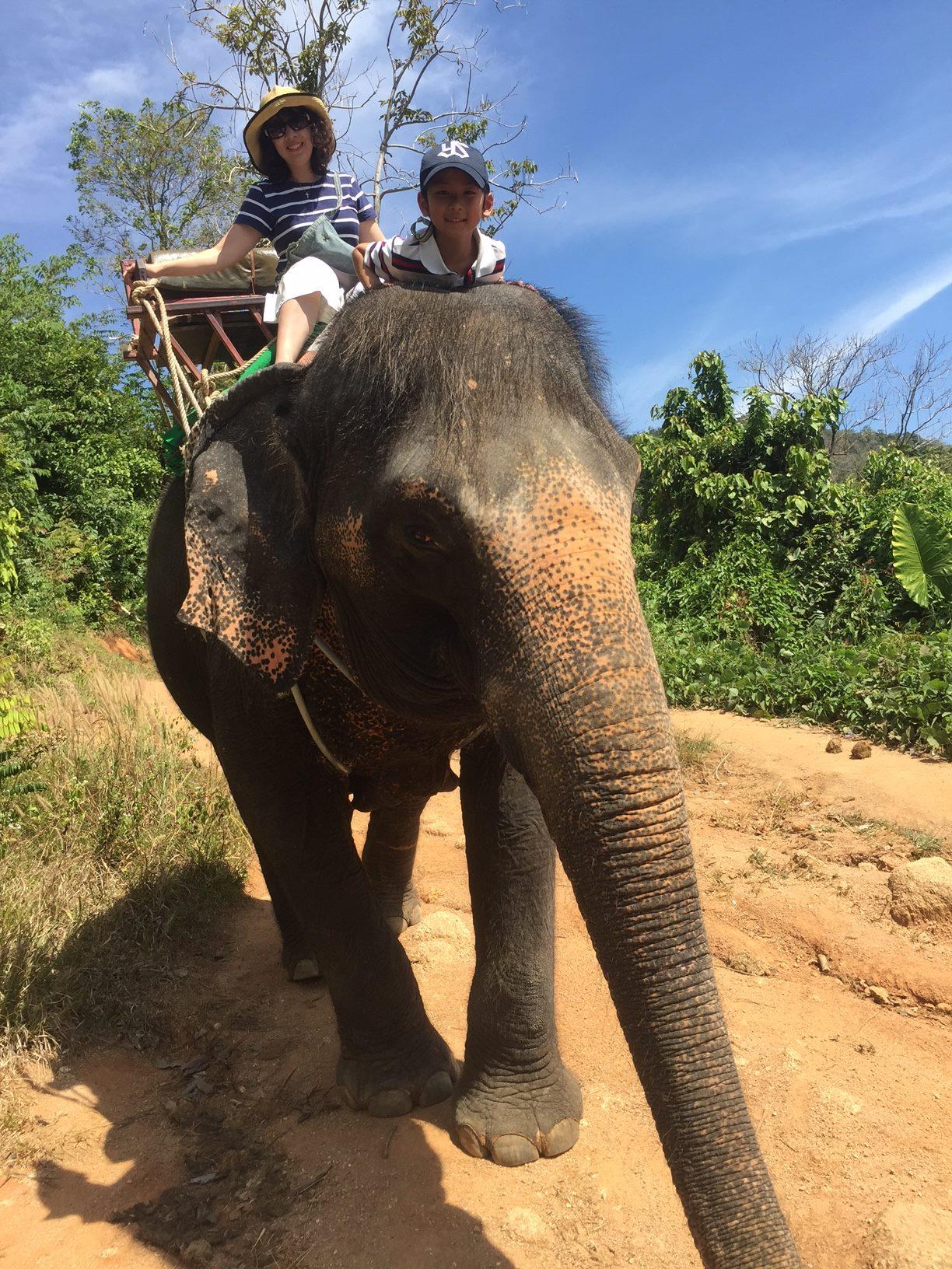 タイ旅行にて