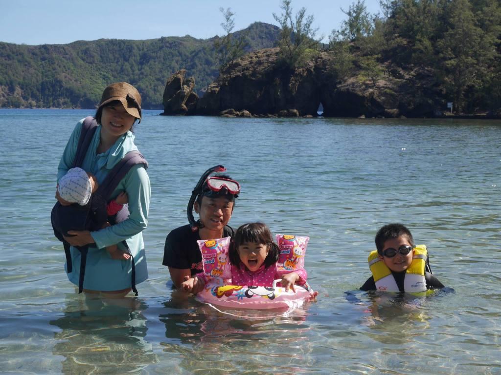 産後半年、家族で小笠原諸島へ 片道船で24時間