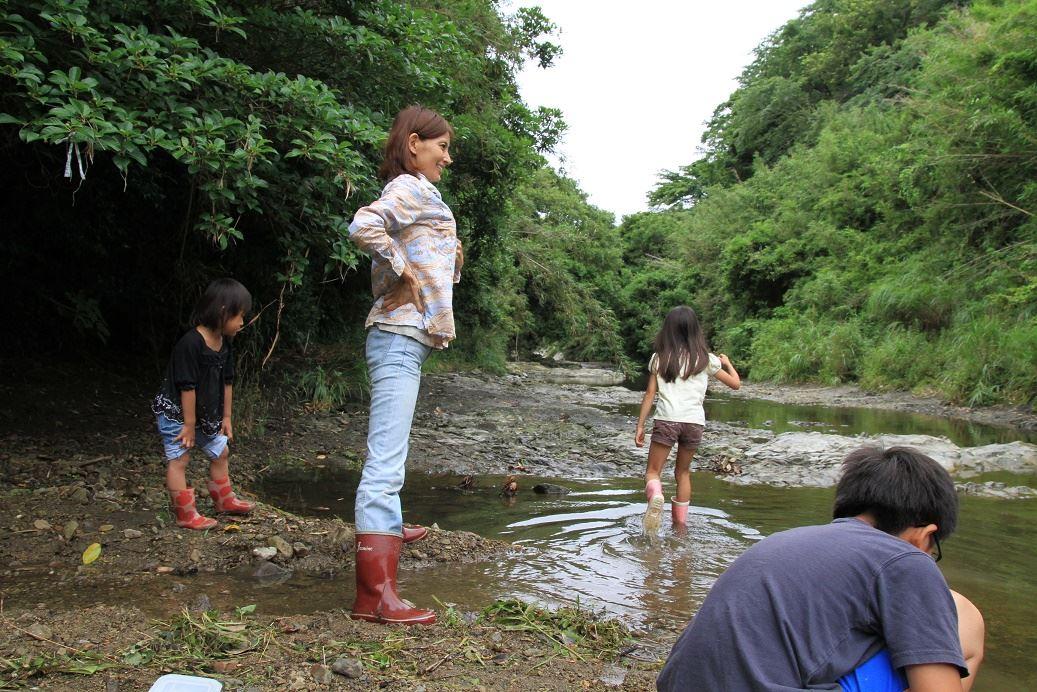 南房総で川遊び