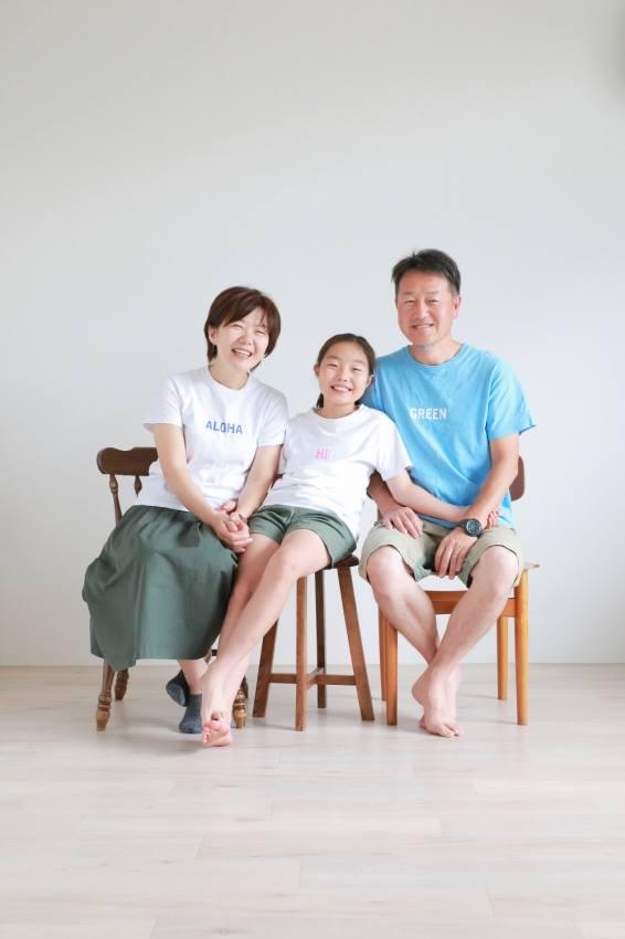 濱田さん家族