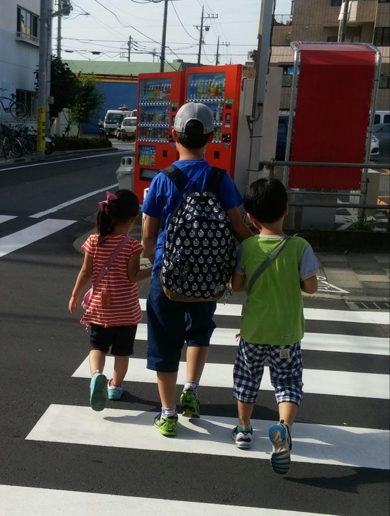 髙本さん3兄弟(保育園&学童へ)